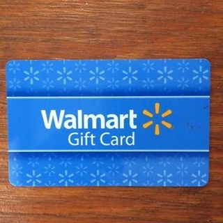 Wallmart gift card 50