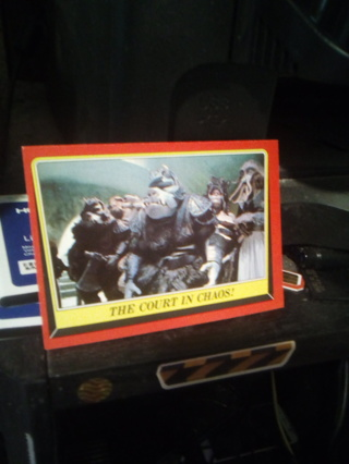 Star Wars Return Of The Jedi card