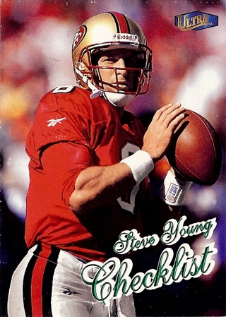 1998 Ultra - Steve Young CL - 49ers