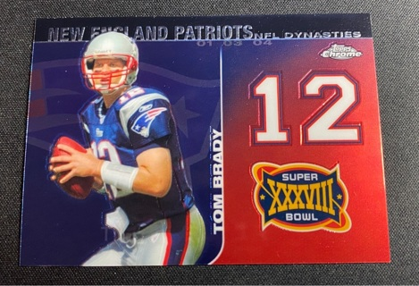 2008 TOM BRADY (Topps Chrome )