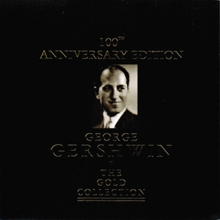 George Gershwin - The Gold Collection (CD, 1998) Piano Jazz Compilation with GIN!