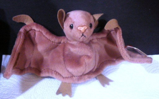 """Collectible Ty Beanie Baby..""""Batty"""" The Bat"""
