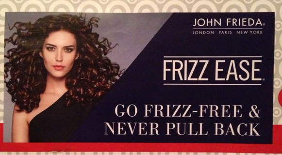 John Frieda Frizz Ease 2 Sample Products.