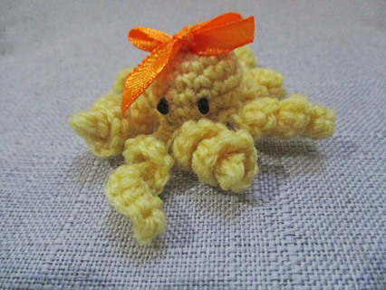 Tiny Octo. Crocheted by Me. New
