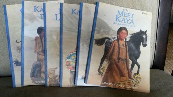 American girl doll Kaya books 1 - 6