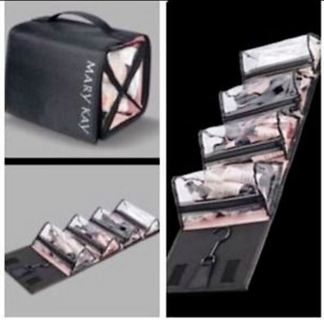 Brand NEW Travel Roll Up COSMETIC BAG with 4 Removable Pouches