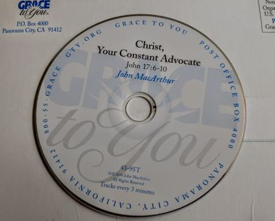 """""""Christ, Your Constant Advocate"""" by John MacArthur"""