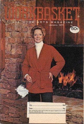 Vintage Workbasket Magazine: Home Arts: January 1977