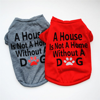 Dog Vest Pet Clothes Summer Casual Style Pet Clothing Thin T Shirt