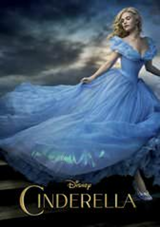 "Cinderella ""HDX"" DIGITAL MOVIE CODE ONLY DMA ~ MA ~ Movies Anywhere ~ VUDU"