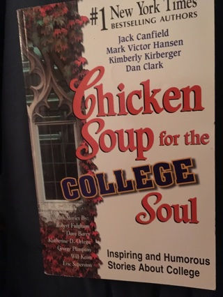 """""""Chicken Soup For The College Soul"""" Like New"""
