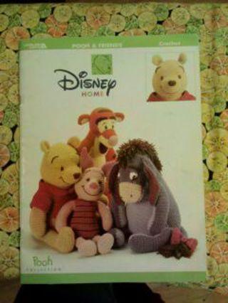 Free Winnie The Pooh And Friends Crochet Pattern Booklet Crochet