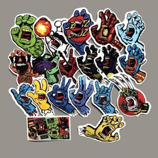 35Pcs Funny Santa Cruz Graffiti Stickers