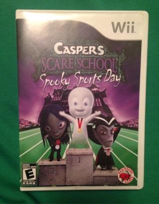 """Casper's Scare School """"Spooky Sports Day"""" Wii"""