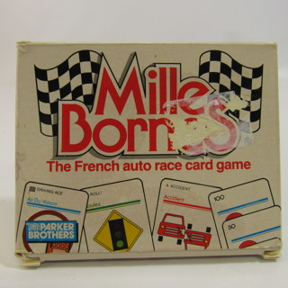 Mille Bornes French Auto Race Card Game 1988