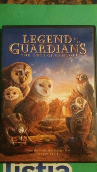 dvd legend of the guardians free shipping
