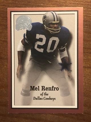 2000 FLEER GREATS OF THE GAME MEL RENFRO
