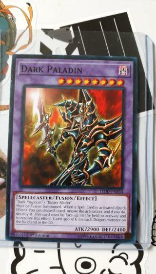 MINT CONDITION DARK PALADIN YUGIOH CARD