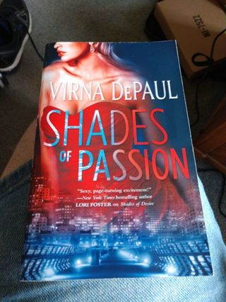 Shades of Passion by Virna DePaul (paperback)