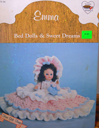 Large Crochet Bed Doll Pillow | Crochet doll clothes patterns ... | 410x320