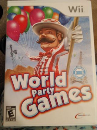 World party games Wii game
