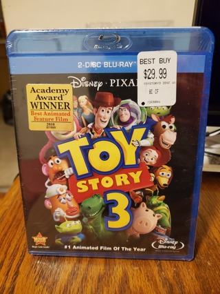 Toy Story 3 Blu-Ray Brand New Factory Sealed