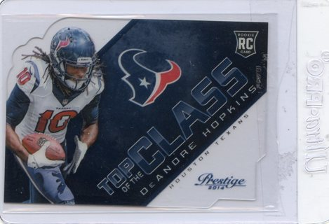 DeAndre Hopkins-Houston Texans 2014 Elite Top of the Class Die-Cut #3
