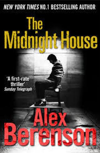 THE MIDNIGHT HOUSE (John Wells #4) by Alex Berenson (HB/DJ-VGC/1st ED) #LLP35ml