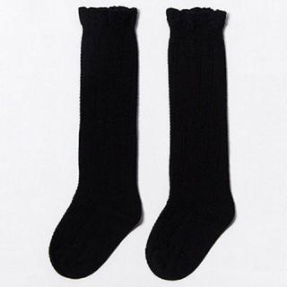 Baby Newborn Girls Cotton Knee High Long Socks Knitted Leg Warmers Infant Socks
