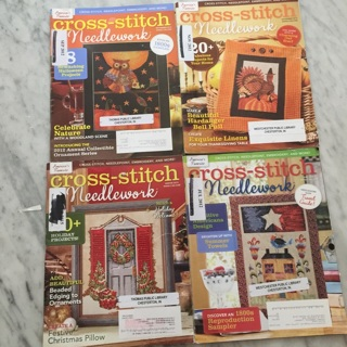 4 Cross Stitch Magazines