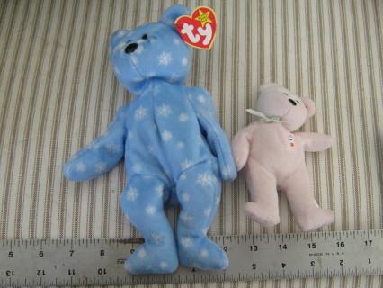 2 TY Beanie Babies