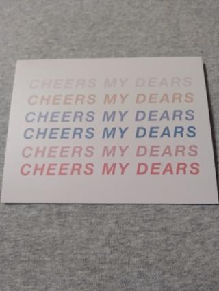 Notecards - Cheers