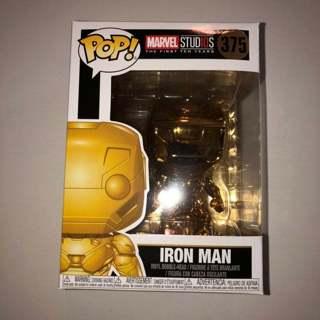 Funko Gold Chrome Iron Man #375