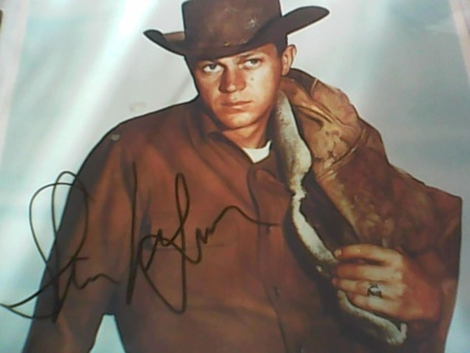 """Steve McQueen """"Wanted Dead Or Alive"""" Autograph"""