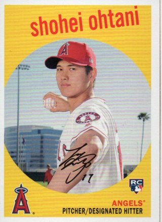 2018 Topps Archives Shohei Ohtani Rookie