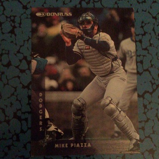 1996 DONRUSS: Mike Piazza #134