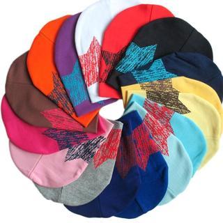 Baby Hat Autumn Winter Kids Cap Star Print Beanie Warm Hats For Children Warmer