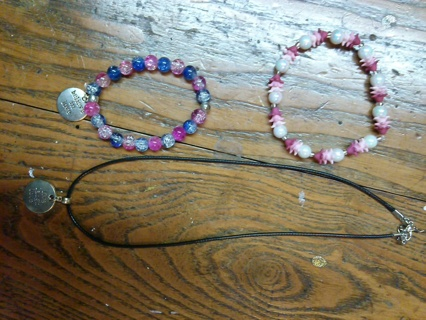 3 pc Jewelry Lot