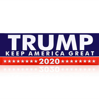 "1 PC Trump ""KEEP AMERICA GREAT"" 2020 Decal Bumper Sticker Donald USA"