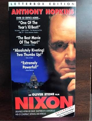Nixon Two-VHS Tape Set
