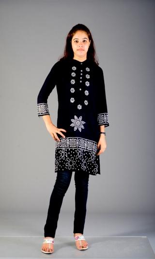 Designer Indian Casual wear Cotton Kurti kurta top tunic Size S M new