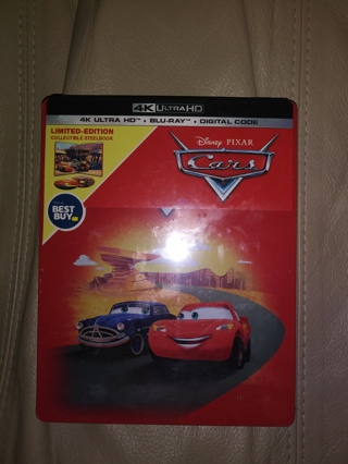 *Discounted* New Limited Edition Cars 4k + Blu-Ray + Digital Steelbook