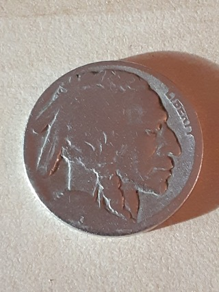 Buffalo Nickel No Date In A Protective Holder