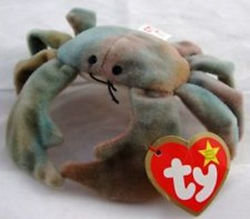 Free  TY Beanie Baby Claude the Crab - Dolls   Stuffed Animals ... 63875d053a4