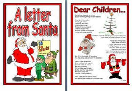 Authentic & Unique Letter From Santa