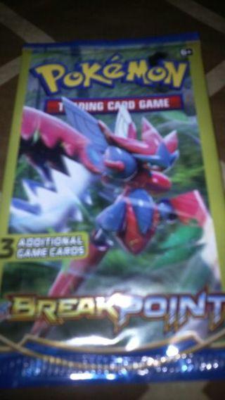 One unopened pkg of Pokemon break point trading cards #3