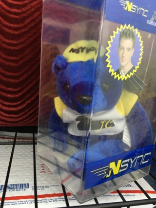 NSync JC Limited Edition No Strings Attached Bear