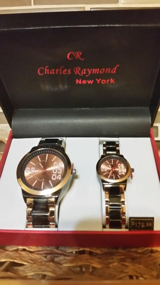 Watches for Him & Her Brand New and a Value of Over $150.00