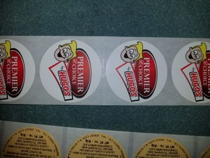 ☆●☆ 3 SHEETS OFROUND STICKERS☆●☆