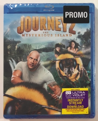 Journey 2 The Mysterious Island Blu-ray Movie (2012) - Brand New Factory Sealed